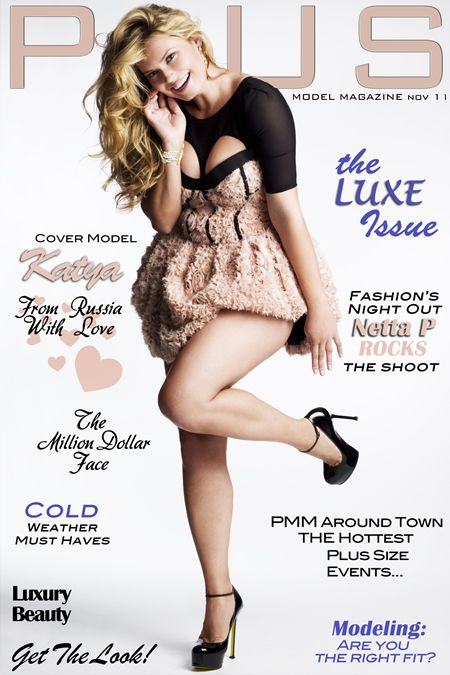 Plus Model Magazine Nov 2011