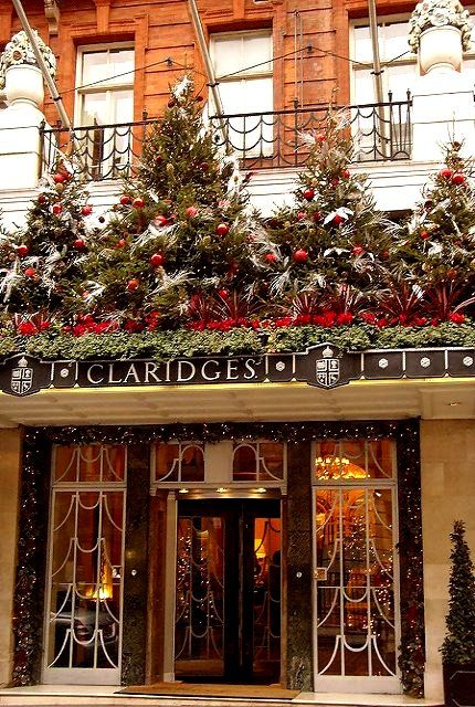 Claridges at Christmastime, London | by mermaid99