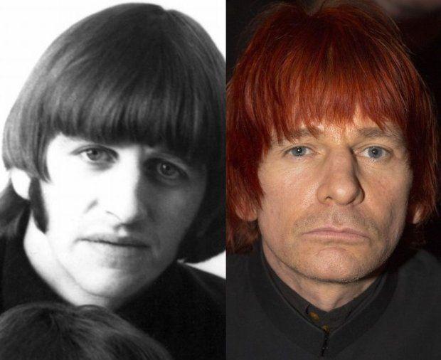 Ringo Starr:and his son Zak Starkey on right   Ringo starr ...