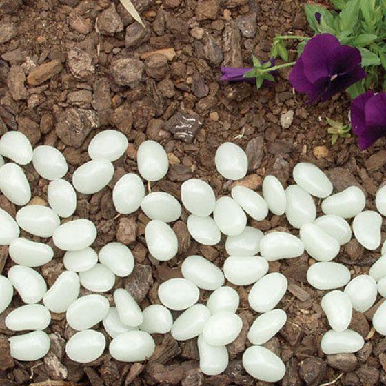 100 Glow Pebbles