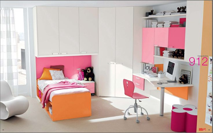 192 best orange and pink rooms images on Pinterest | Homes, For the ...