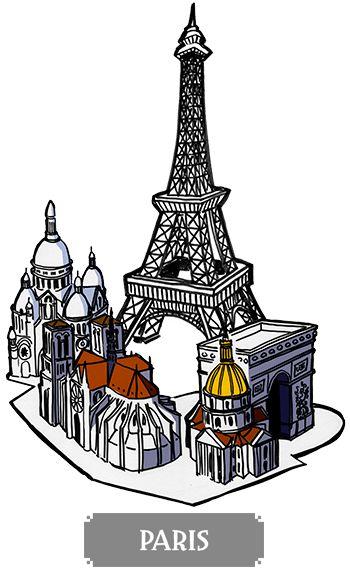 Paris - boardgame Pélotone1903