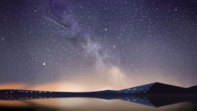 Perseid Meteor Shower 2014 #GoogleDoodle