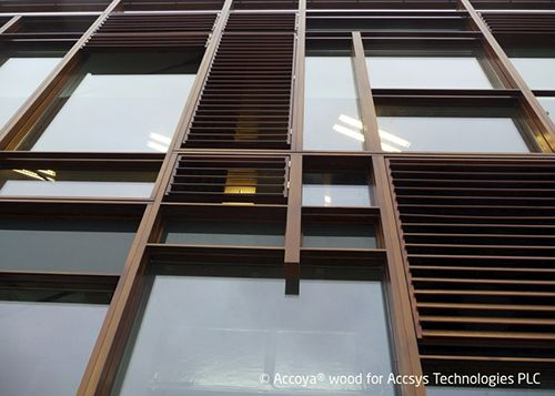 Accoya® - modified Radiata Pine used for windows. Copyright: Accsys Technologies.
