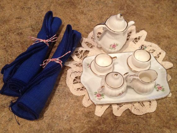 Vintage Mini Playtime Tea Set  Dolly and Me  coffee pot