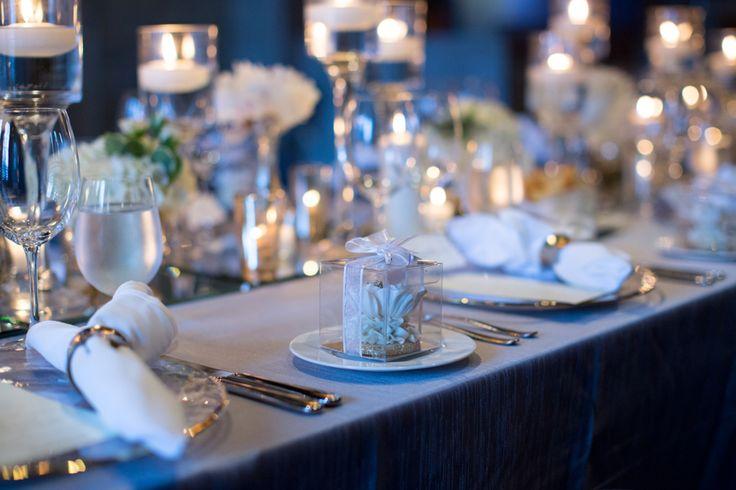 George Restaurant Toronto wedding reception French Romance table decor