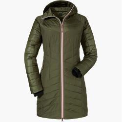 Didriksons Hildur – Mantel für Damen – Grün DidriksonsDidriksons