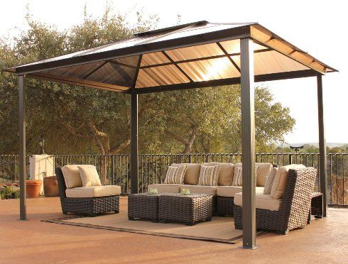 Portable Gazebo With Canopy Hayneedle Poolspaoutdoor
