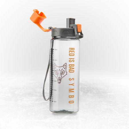 Butelka sportowa z zamykanym ustnikiem