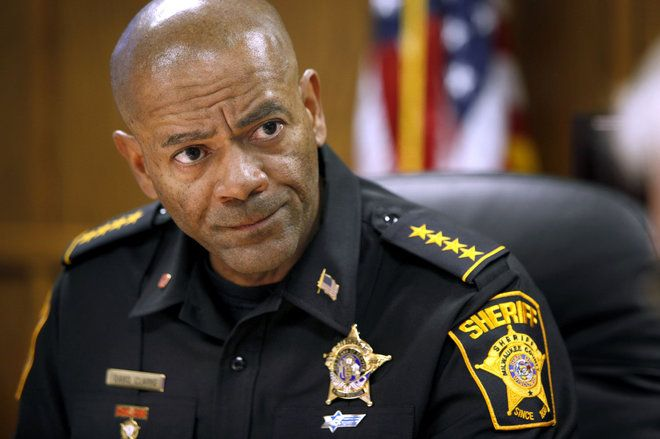 Milwaukee County Sheriff David Clarke suggests that Barack Obama encouraged Ferguson rioting