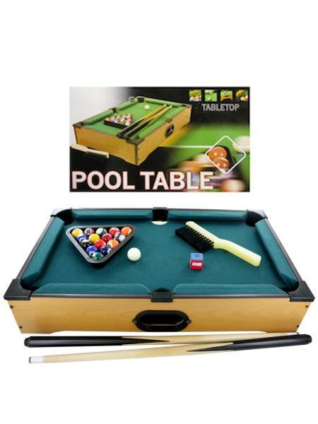 Tabletop Pool Table (Available in a pack of 1)
