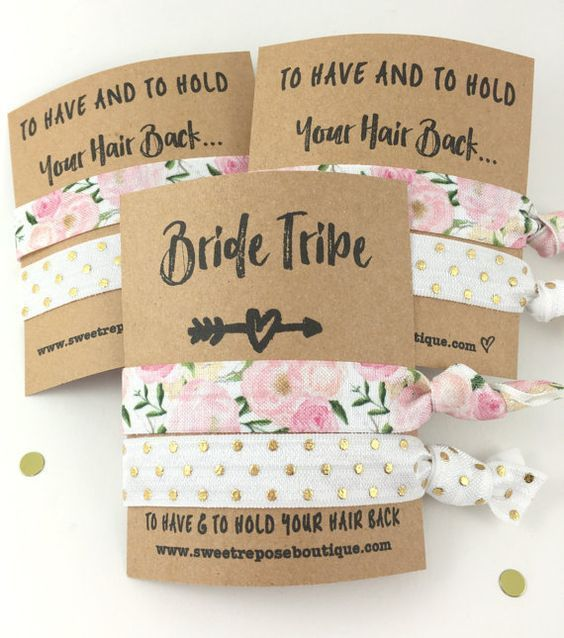 Welcome to the bride tribe! + 7 Adorable and Affordable Etsy Bridesmaid Gifts