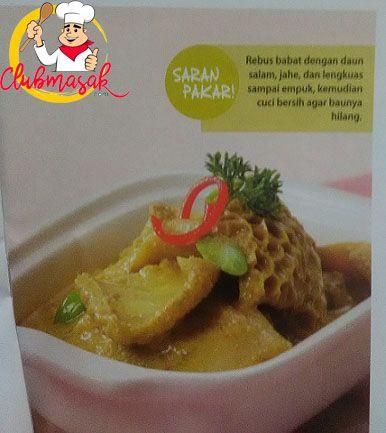Resep Kare Babat Pedas Resep Masakan Sehari Hari Dirumah Club Masak Masakan Resep Masakan Resep