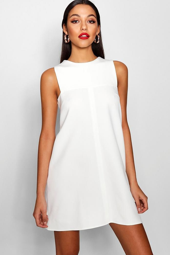 22++ White shift dress information