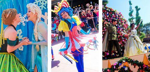 Festival of Fantasy Parade Debut