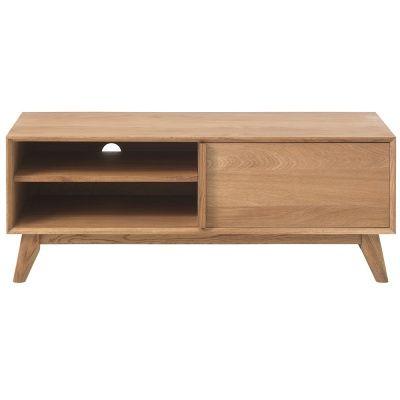 The Deakin 1 Door Lowboard - Oak Dining Furniture`