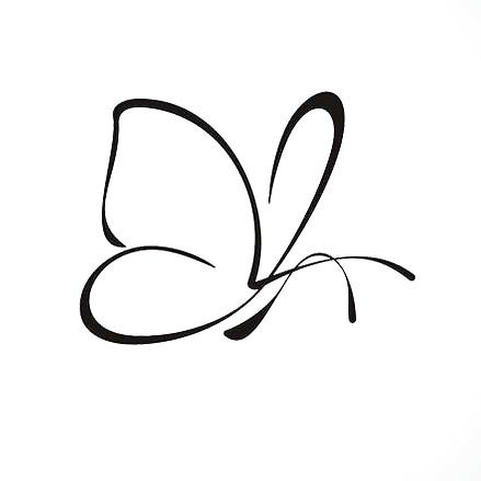 Perfect for woman who like elegant, small and sexy tattoo. Discreet but with a strong meaning, it represents freedom, love, life and a new beginning. Color: Black. Tags: Cute, Popular, Easy, Sexy, Awesome, Great, Elegant