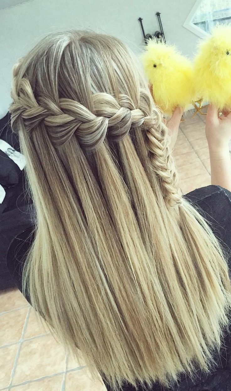#8: The Braided Updo  If you're looking for a sophisticated way to wear boho braids, look no further than the braided updo. This style created by Joshua James takes several three-stranded braids and wraps them around the client's head to create a structured updo. A few messy pieces and loose strands give …