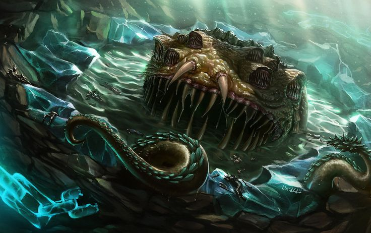 I was kinda hoping for some eldritch abomination at the - #138356949 added by mandalorianhunter at ocean depth