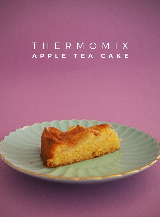 Thermomix Apple Tea Cake Recipe