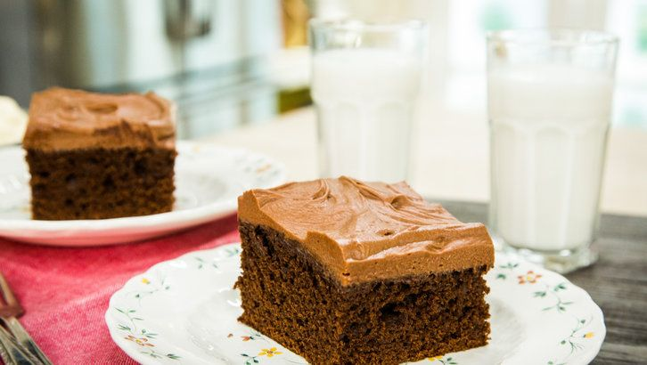 Delicious old fashioned chocolate mayonnaise cake made by Jill O'Connor! Don't miss Home & Family weekdays at 10a/9c on Hallmark Channel