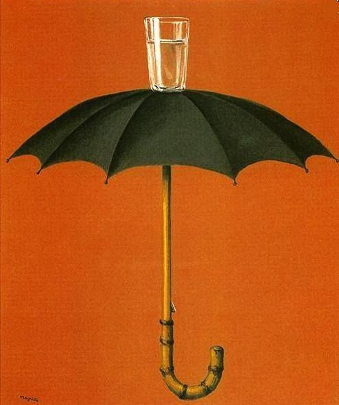 Les vacances de Hegel, 1958: Tattoo Ideas, In My Dreams, Umbrellas, Private Collection, Art, Renemagritte, Rene Magritte, Hegel Holidays
