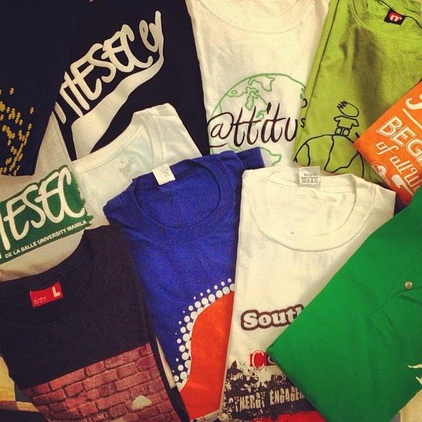 AIESEC t-shirts