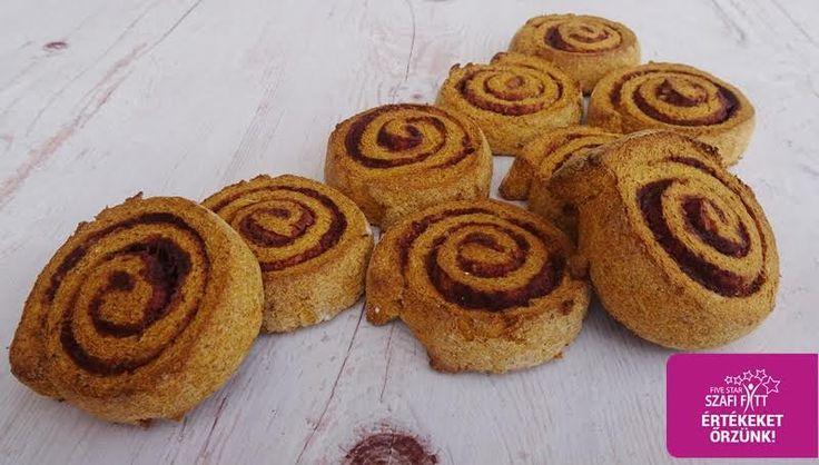 Éhezésmentes karcsúság Szafival - Vegán sütőtökös fahéjas csiga