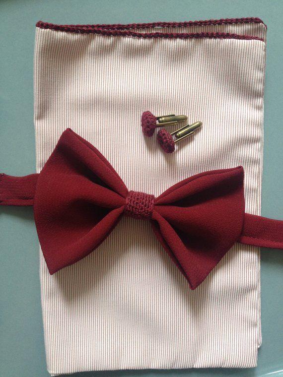 Spitze 20er Jahre Fliege Hochzeitsfliege Bordeaux Rot Fliege Bordeaux Rot