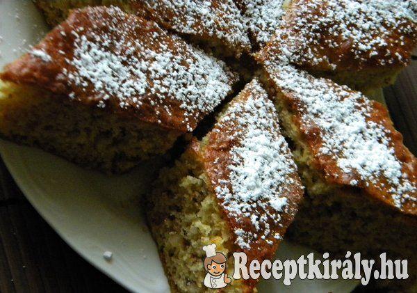 Almás-diós kevert süti