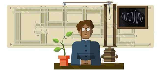 30 November 2016 Jagadish Chandra Bose's 158th Birthday