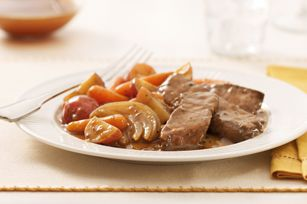 New England Pot Roast - I wouldn't make this again. I wasn't a fan of the seasonings and the instructions required some altering. I would rather just make my own the way I usually do.