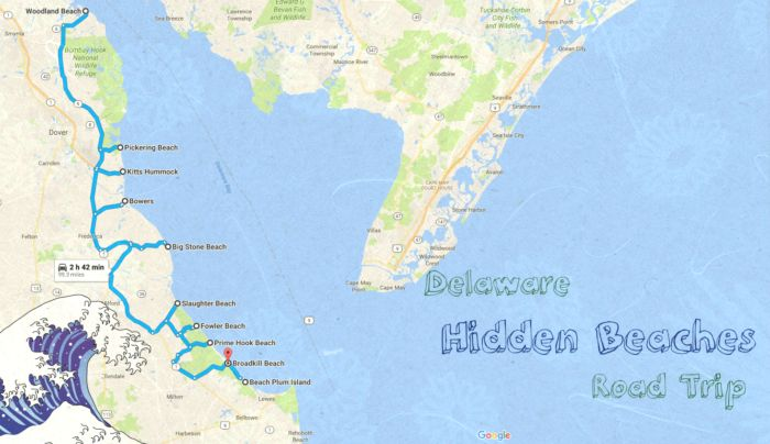 The Hidden Beaches Road Trip That Will Show You Delaware Like Never Before