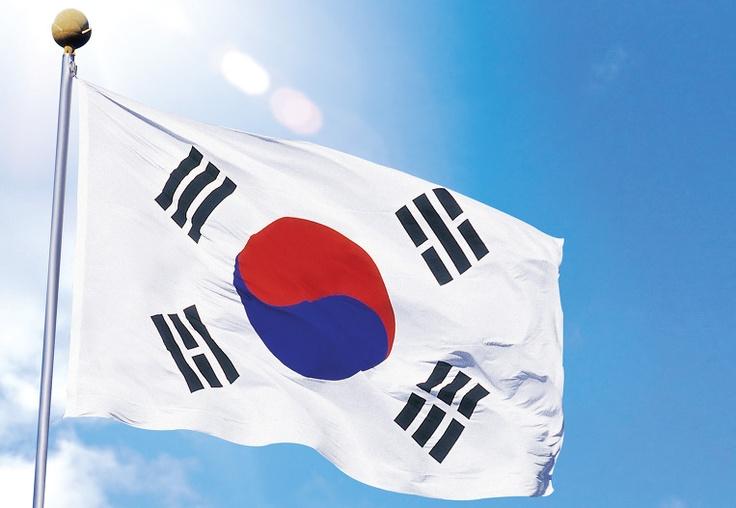 태극기(Taegeukgi, 太極旗), The Flag of South Korea, Republic of Korea