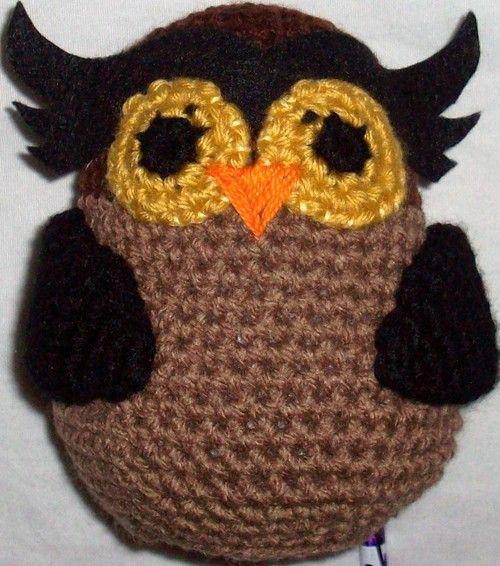 Amigurumi Owl - crochet free pattern