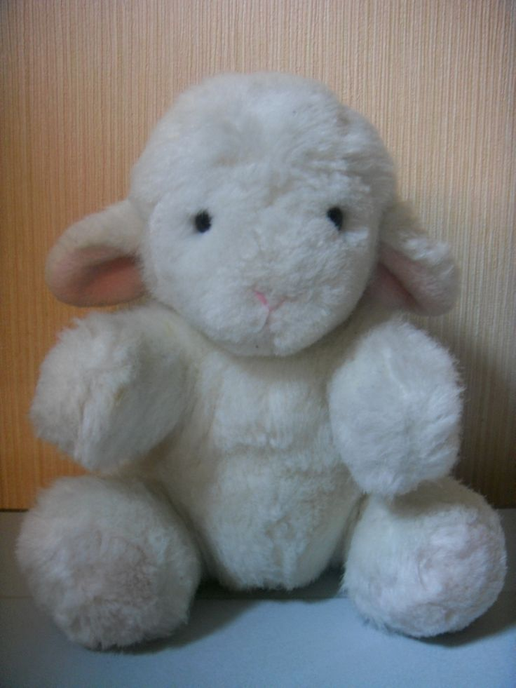 Lamb doll has been with me for a long time