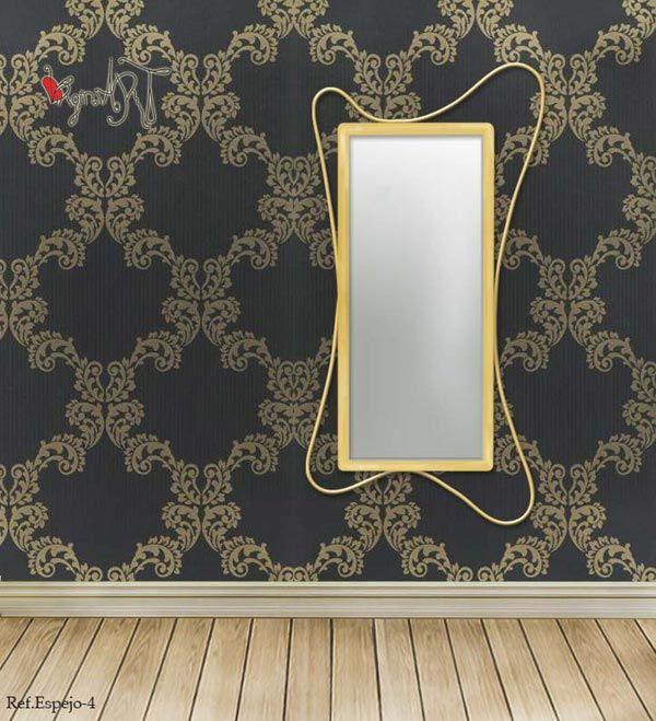 Espejos de forja espejos de forja modernos for Espejos de formas