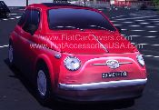 FIAT 500 Car Dust Cover For 2012 FIAT 500 Models