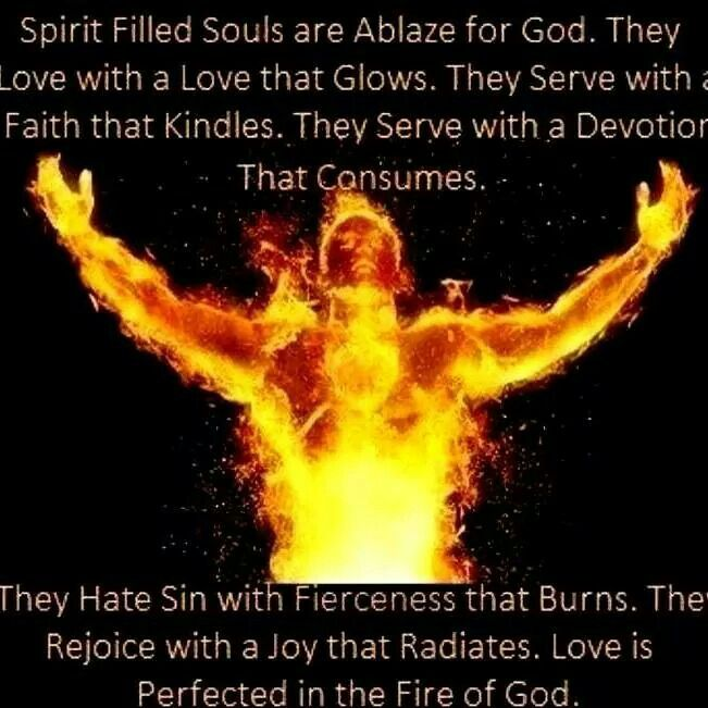 Image result for on fire for jesus