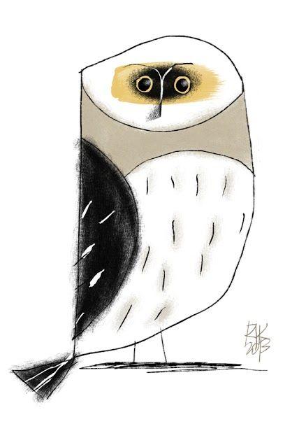 """""""Gufo"""" - illustrazione digitale"""