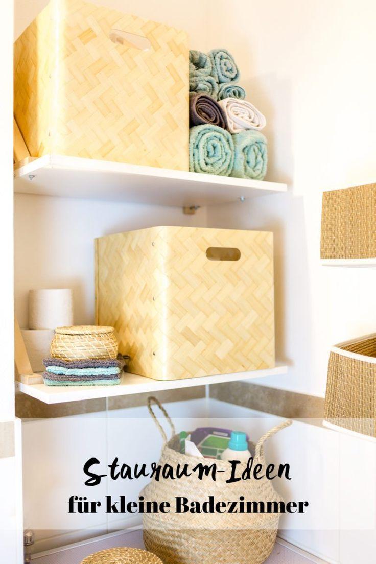 Stauraum für ein kleines Badezimmer – Wir zeigen euch unser neues Bad