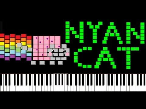 Impossible nyan cat song piano tutorial