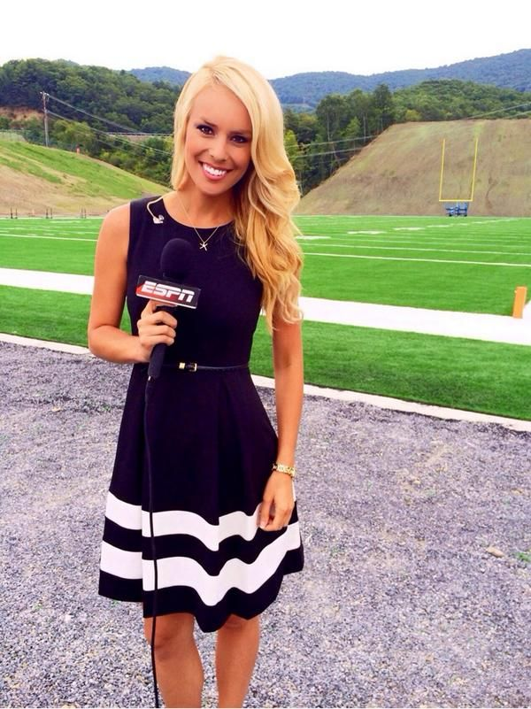 Britt Mchenry! Definitely my girl crush/ idol!!! definitely one of ESPN's best reporters! She knows what she's talkin bout!