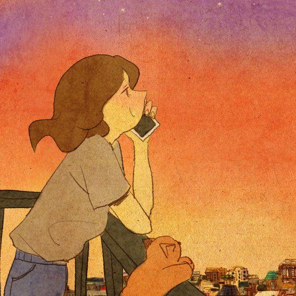 너와 전화 통화를 해요. 특별하게 할 이야기는 없지만 그냥 전화를 끊고 싶지 않아요. 끊지 않으려고 자꾸만 의미 없는 이야기를 툭툭 던져요.  뒤죽박죽 나의 이야기에 반응해주는 네가 좋아요.아! 드디어 만났어요! 너무너무 보고싶었어요!내 얼굴이 볼게 뭐가 있다고.  뚫어져라 보는거 지겹지도 않아요? 전혀 지겹지 않아요. 계속 보고싶어요.네가 날 바라봐주는 것도 너무 좋아요.  계속 봐주세요.안아줘요. 이대로 가만히 있어요. 하루 종일 이렇게 있을래요.네 입술에서 달달한 음료수 향이 나요.쪽, 쪽, 쪽!이거 봐요. 우와..! 너는 정말 대단해요!우와! 힘 짱짱 쎄다! 안 무거워요? 조금 무거워요.내 머리 위에 뭐가 있는 것 같아! 벌레예요?! 무서워요! 네 맞아요. 벌레예요. 내가 잡아줄게요.