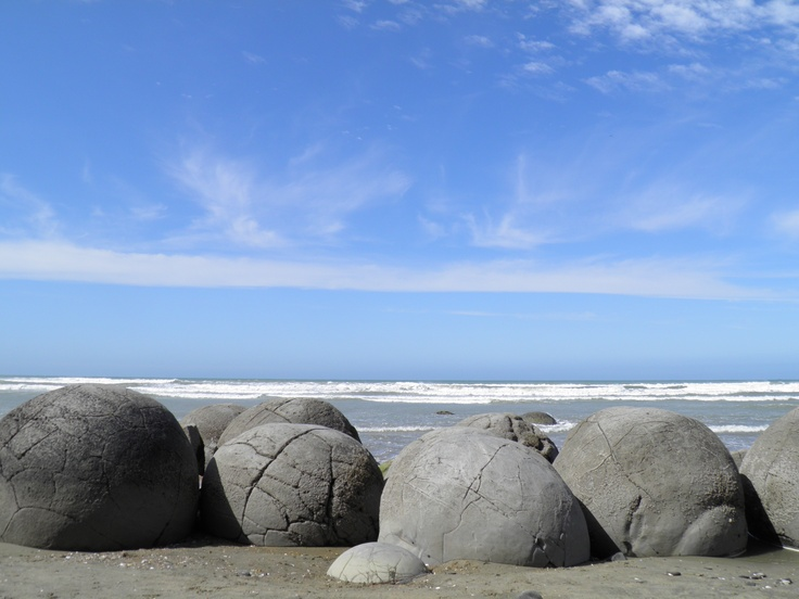 Moeraki Boulders, New Zealand - M.Belluet