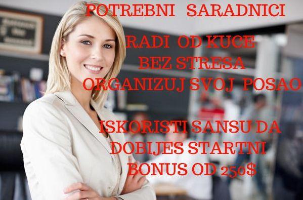 Svi zainteresovani za posao od kuce preko interneta mogu da se prijave na ljiljanakricak.blogspot.com