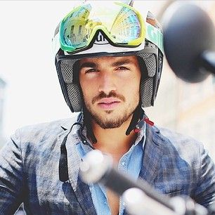 #marianodivaio is the next protagonist of #gasgoesfast...travelling from Milan to Assen, he'll be #gasjeans guest for the #motogp weekend! more at http://live.gasjeans.com/