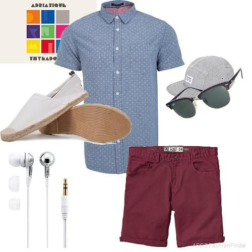 Summer | Men's Outfit | ASOS Fashion Finder