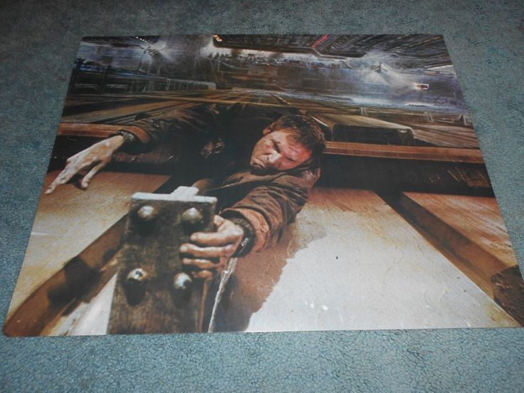 """BLADE RUNNER(1982)HARRISON FORD LOT OF 4 DIFFERENT ORIGINAL 16""""BY20"""" POSTERS"""