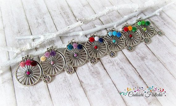Quilling  Paper  Colorful  Bike  Handmade  by CadouriFistichii